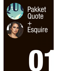 Pakket Quote + Esquire